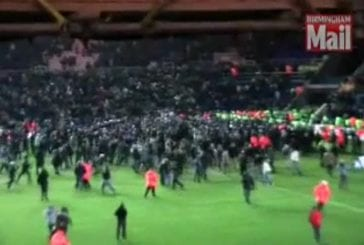 Full footage of violence at st andrew #39;s stadium