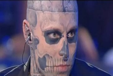 Guinnes world record the tattooed zombie (boy s of video t