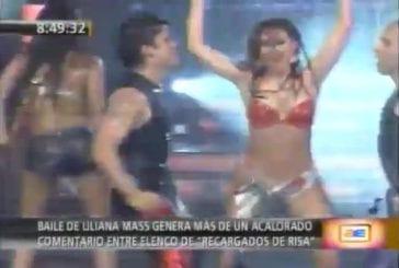 Liliana mass sin calzon en el show de los sueños [hd]