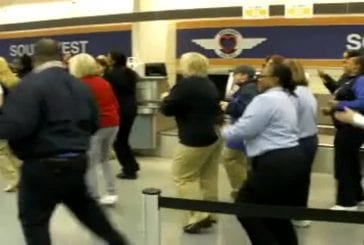 Southwest airlines flash mob chicago
