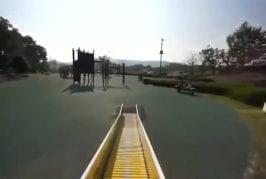 Super fun playground slide