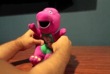 Toy fail barney is a pervert