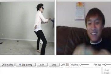 Gangnam style sur chatroulette