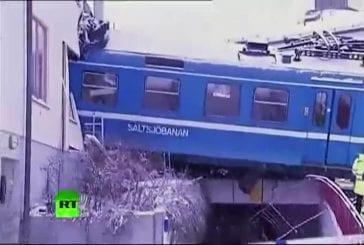 Une femme de ménage vole un train et s'encastre dans un immeuble