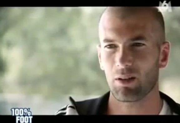 Zidane nous raconte une blague