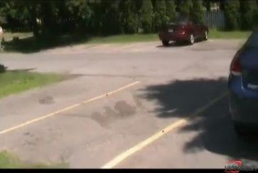 Accident de voiture effrayer