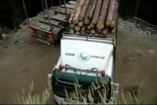 Un très bon conducteur de camion