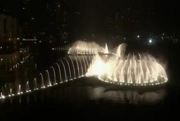 La fontaine de Dubai - Baba Yetu