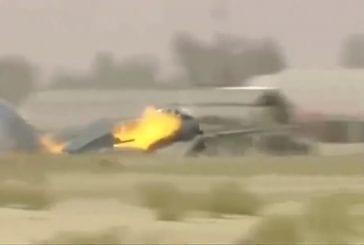 Atterrissage avion de chasse fail