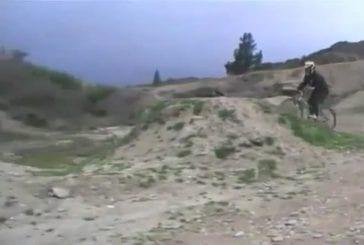 Grosse chute en BMX