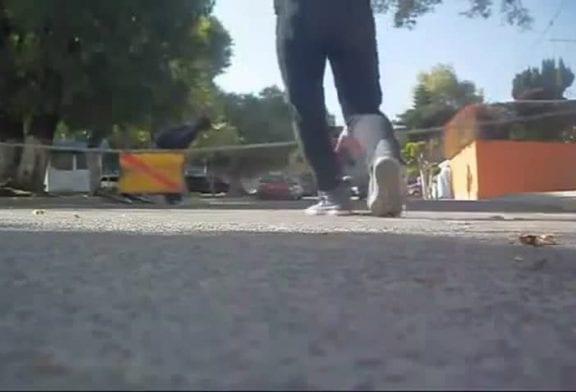 Faceplant en skateboard