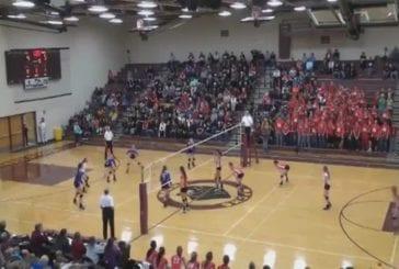 Double fail au volley féminin