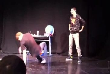 Breakdance epic fail