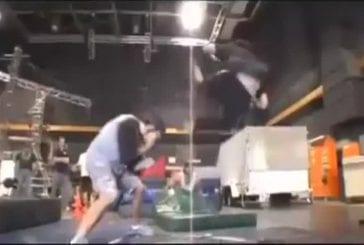 Incroyables mouvements d'arts martiaux