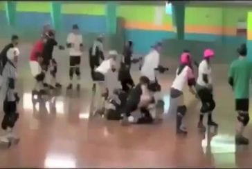 Faceplant en roller derby