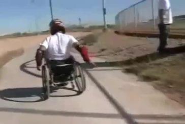 Cascades de fauteuil roulant
