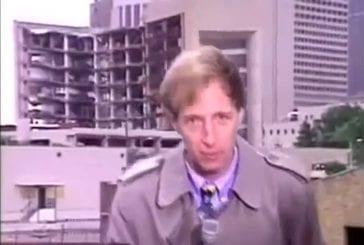 Journaliste se fait avoir par la démolition du bâtiment