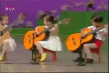 Enfants nord coréen ont un incroyable talent