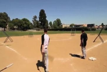 Incroyable joueur de base-ball
