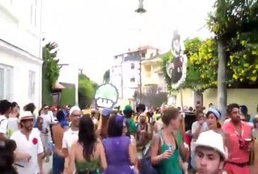 Mario Bross au carnaval de Rio