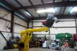 Tourner dans les bras d'un robot