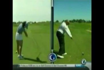 Charles Barkley a le pire swing de golf