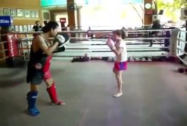 Combattriez-vous cette fillette de 9 ans?