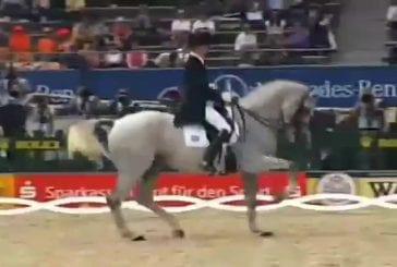 Dressage Hip Hop de cheval
