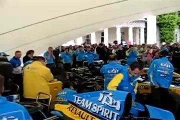 Ecoutez le son du moteur de cette F1 Renault R25