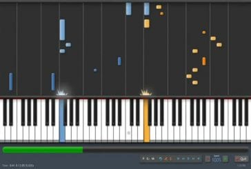 Skrillex transcrit au piano