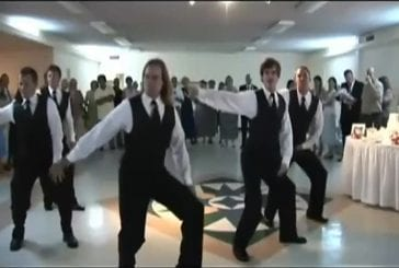 Danser Thriller lors de son mariage