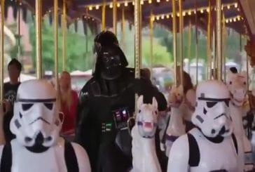 Star Tour et Dark Vador vont à Disneyland