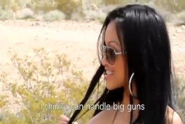 Filles Playboy Tirent au fusil