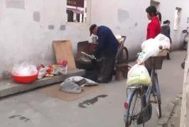 Usine de pop-corn en Chine