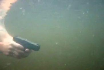 Tirer au fusil sous l'eau