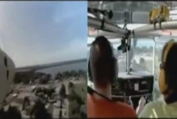 Atterrissage d'avion en panne de moteur