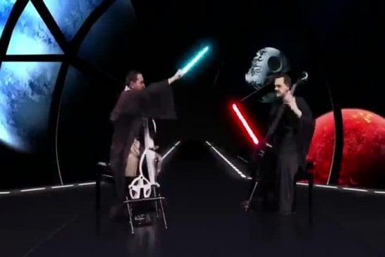 Guerre des étoiles au violoncelle