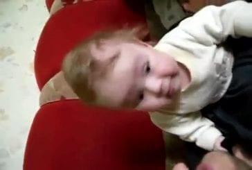 Un bébé volant