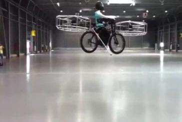 Incroyable bicyclette volante