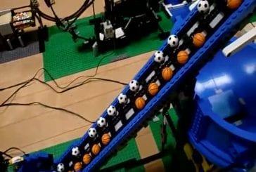 Chantier de construction Lego
