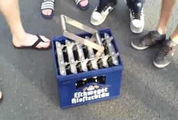 Le moyen le plus rapide pour ouvrir une caisse de bière