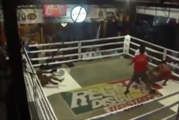 Combat de Muay Thai