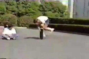Freestyle skateboarding en 1984