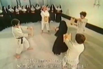 Des religieuses prennent des cours d'auto-défense