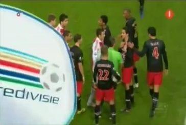 Footballeur Luis Suarez mord Otman Bakkal