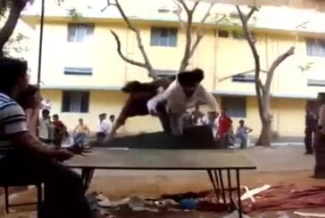 Double saut à partir d'une table FAIL