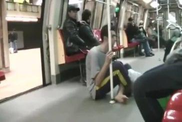 Mendiant dans le métro FAIL