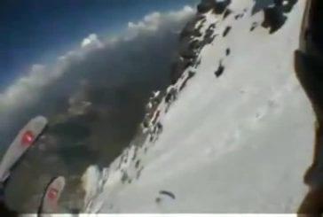 Extrême glisse en ski
