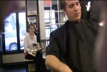 Blague de la coupe de cheveux ratée