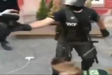 Police roumaine en intervention FAIL